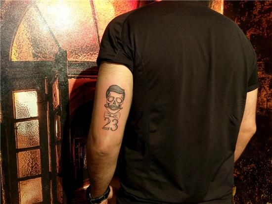 kuru-kafa-ve-23-dovmesi---stayin-classy-skull-and-23-tattoo