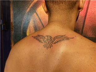 Tribal Kartal Dövmesi / Tribal Eagle Tattoo
