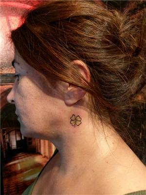 4-yaprakli-yonca-dovmesi---4-leaf-clover-tattoos