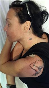 Uyuyan Bebek Melek Dövmesi / Sleeping Baby Angel Tattoo