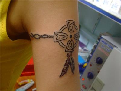 kizilderili-sembol-dus-kapani-dovmesi---indian-cross-dreamcatcher-tattoo