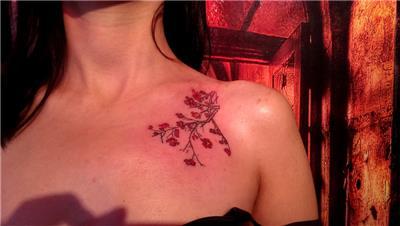 sakura-cicek-dovmesi---sakura-flowers-tattoo