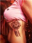 lotus-cicegi-ve-ruya-kapani-dovmesi---lotus-dream-catcher-tattoo