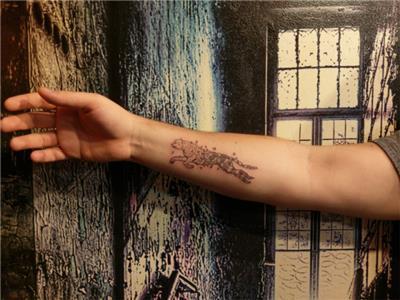 geometrik-leopar-cita-dovmesi---geometric-leopard-cheetah-tattoo