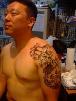 koi-baligi-dovmesi---koi-fish-tattoo