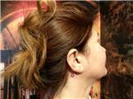 kulak-arkasina-yildiz-dovmesi---star-tattoo-behind-ear