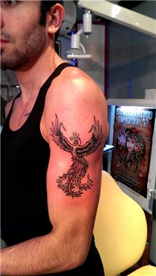 simurg-zumrudu-anka-kusu-kol-dovmesi---phoenix-arm-tattoo