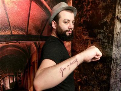 gazi-mustafa-kemal-imzasi-dovme---gazi-mustafa-kemal-signature-tattoo