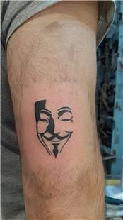 V For Vendetta Dövmesi / V For Vendetta Tattoo