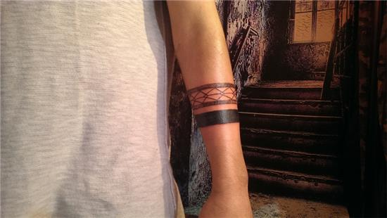 serit-bant-dovmeler---band-tattoos